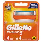 Gillette Fusion 4 Pack Razors