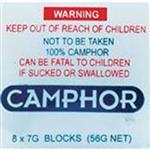 camphor block 8X 7G