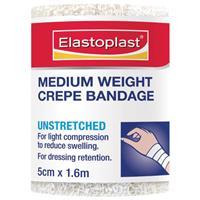 Elastocrepe 46014 Medium Weight Crepe Bandage 5cm x 1.6m