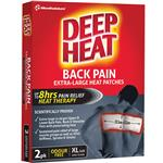 Deep Heat Back Patches 2 Pack