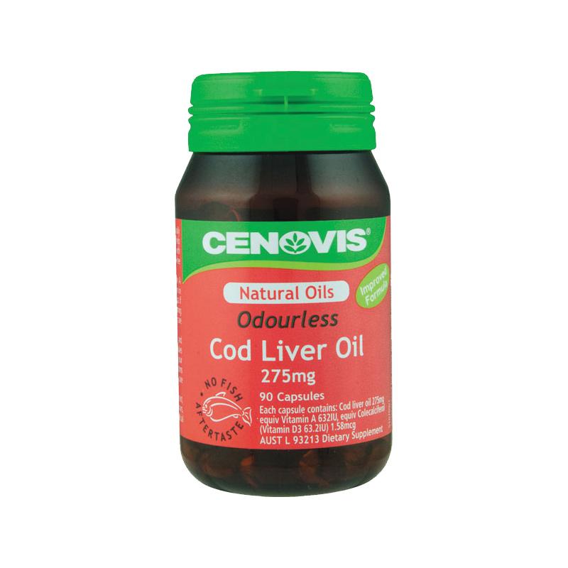 Cod liver oil pill