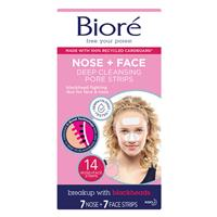 Biore Deep Cleansing Pore Strips 14 Combo