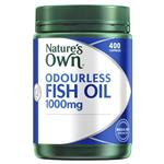 Nature's Own Odourless Fish Oil 1000mg 400 Capsules