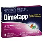 Dimetapp Day & Night PSE FREE Liquid Caps 24 (Limit ONE per order)
