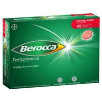 Berocca Performance Effervescent Tablets Original 45