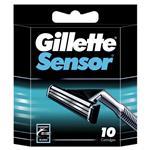 Gillette Sensor Refill Shaving Cartridge Pack 10