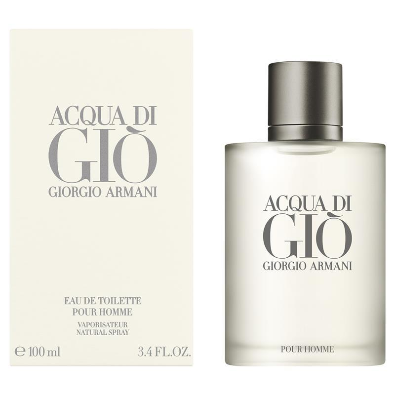 Acqua Di Gio For Men Eau De Toilette Spray 100ml My Chemist