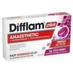 Difflam AAA Berry Sugarfree Lozenge 16