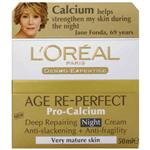 L'Oreal Dermo Expertise Age Re-Perfect Pro-calcium Night 50mL