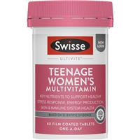 Swisse Women's Teenage Ultivite 60 Tablets