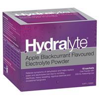 Hydralyte Powder Apple Blackcurrant 5g X 10