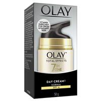 Olay Total Effects 7 in One Day Cream Normal Moisturiser with SPF 15 50g