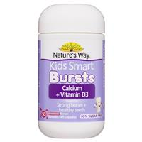Nature's Way Kids Calcium Strawberry Milkshake Burstlets 50