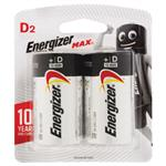 Energizer Max D 2 Pack