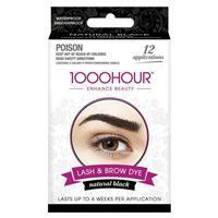 1000 Hour Eyelash & Brow Dye Kit Black