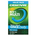 Cenovis Once Daily Men's Multivitamins & Minerals 125 Capsules