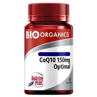 Bio-Organics CoQ10 150mg Optimal 30 Capsules
