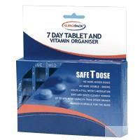 Surgipack Safe T Dose Pill Dispenser 7 Day