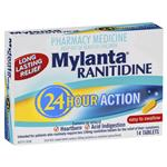 Mylanta Ranitidine 24 Hour 300mg 14 Tablets