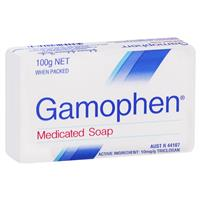 Gamophen Antibacterial Medicated Soap 100g
