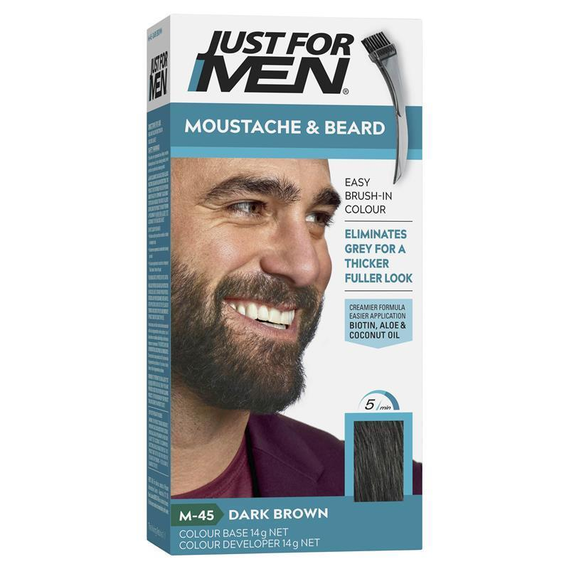 Just for Men Beard Colour - Dark Brown-Black - ePharmacy