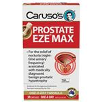 Carusos Natural Health Prostate EZE MAX 15000mg Pygeum 30 Capsules