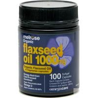 Melrose Flaxseed Oil 1g 100 Capsules