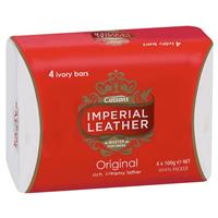 Cussons Imperial Leather Soap Pack 4