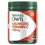 Nature's Own Sugarless Vitamin C 500mg Tablets 400
