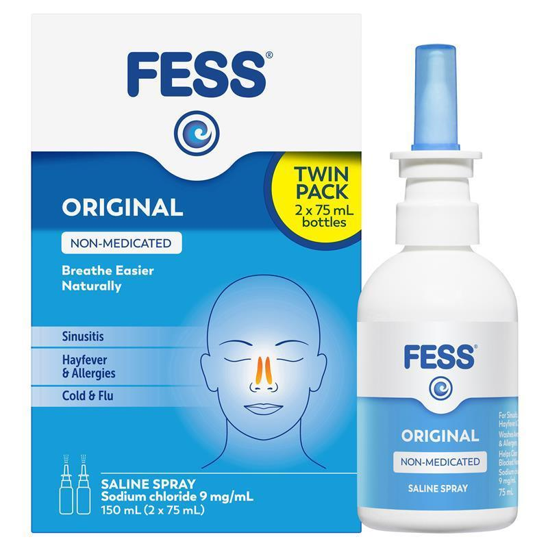how to use fess spray