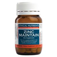 Ethical Nutrients Zinc Maintain 60 Tablets