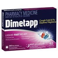 Dimetapp Day & Night PSE Free 48 Liquid Caps