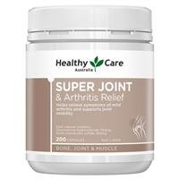 Healthy Care Super Joint & Arthritis Relief 200 Capsules
