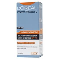 L'Oreal Men Expert Hydra Energetic SPF15 Lotion 50mL
