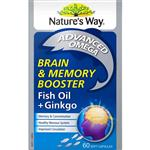 Nature's Way Brain and Memory 60 Capsules