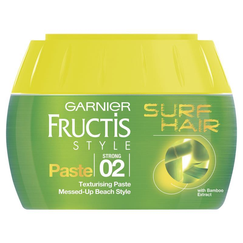 garnier fructis style surf hair texture paste garnier fructis style surf hair paste 150ml my spot 2605