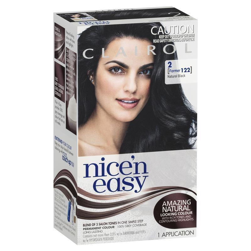 Clairol Nice Easy 122 Black My Beauty Spot