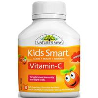 Nature's Way Kids Vitamin C Capsules 50