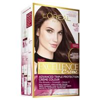 L'Oreal Excellence Creme - 4.15 Velvet Browns- Dark Frosted Brown