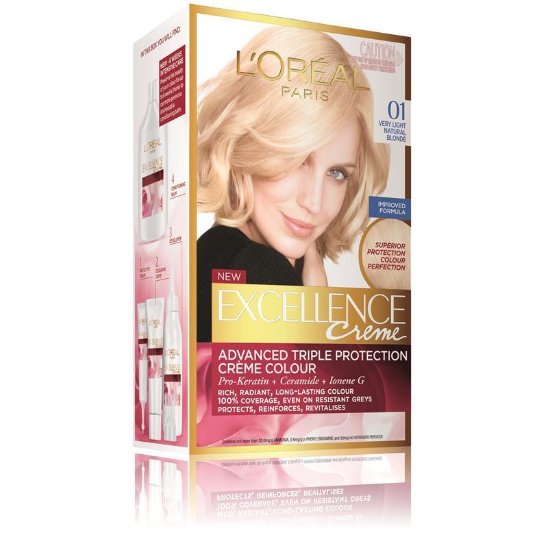 Loreal Excellence Creme 01 Supreme Very Light Natural Blonde
