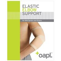 Oapl 34003 Elbow Support Elastic Large