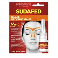 Sudafed Nasal Decongestant Spray 20ml