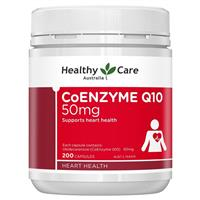 Healthy Care CoEnzyme Q10 50mg 200 Capsules