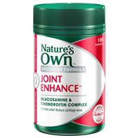 Nature's Own Joint Enhance Easy Glide with Glucosamine & Chondroitin 100 Tablets