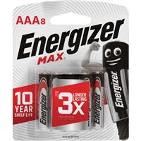 Energizer Max AAA 8 Pack