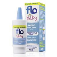 FLO Baby Saline + Nasal Spray 15ml