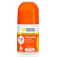 Cancer Council SPF 30+ Everyday 75ml Roll On