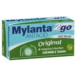 Mylanta2go Original Chew Tablets 100