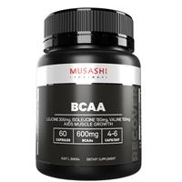 Musashi Muscle Recovery BCAAs 60 Capsules