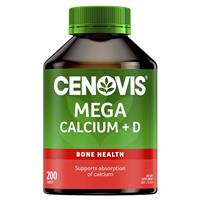 Cenovis Mega Calcium 200 Tablets Value Pack